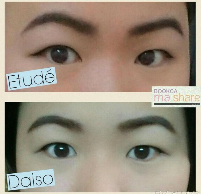05 eye brow pencil etude vs daiso