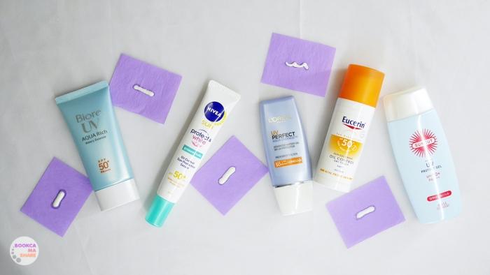 sun-protect-spf-50up-nivea-biore-loreal-suncut-eucerin-oily-skin-09