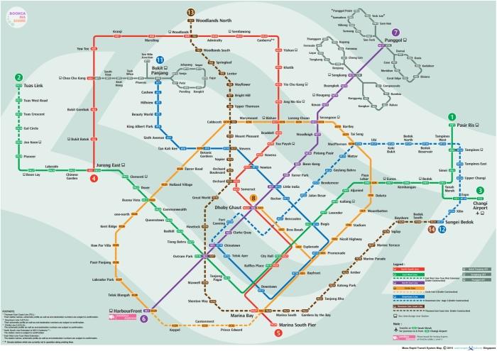 Singapore-MRT-Line-Map