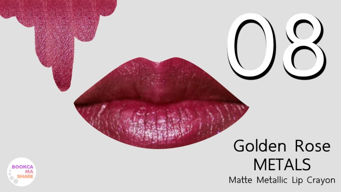 review-seatch-golden-rose-matals-matte-matallic-lip-crayon-jeban-pantip-08